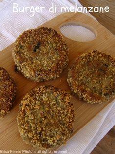 Ogni riccio un pasticcio - Blog di cucina: Burger di melanzane