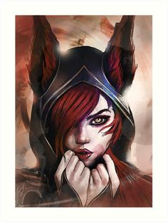 League of Legends XAYAH by Naumovski