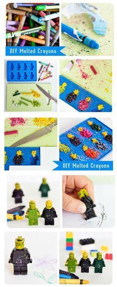 DIY Melted Crayons Diy Crayons, Melted Crayons, Kid Stuff, Geek Stuff, First Grade Art, Crafts For Kids, Arts And Crafts, Diy Ideas, Craft Ideas