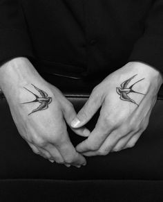 A swallow tattoo is a great addition to any ink enthusiast's collection. Swallows are part of a family of birds