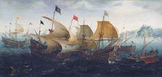 Aert van Antum (ca. 1580 – 1620) was een Nederlands marineschilder, actief in het eerste kwart van de 17e eeuw.  Het Rijksmuseum in Amsterdam bezit twee van zijn zeldzame werken, te weten de Slag bij Cadix (1608) dat de zeeslag toont van Hollandse en Engelse schepen in gevecht met de Spaanse Armada in 1588 (hier afgebeeld), en het schilderij Schepen voor IJselmonde (1617-1618).