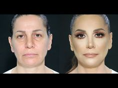 Cosmetics USA - Mature women makeup tutorial by Samer Khouzami Simple Everyday Makeup, Simple Makeup Tips, Everyday Makeup Tutorials, Makeup For Over 60, Makeup Tips For Older Women, Cheek Makeup, Make Up Anleitung, Makeup Magazine, Hair Magazine