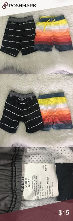 NWT GYMBOREE Boy Baby Newborn Essentials Light Blue Shorts 12-18 M