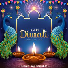 Download Bright diwali festival decoration vector illustration in AI format. Bright,Decoration,Diwali,Festival Vector Background and more resources at freedesignfile.com Happy Diwali Images Wallpapers, Happy Diwali Pictures, Happy Diwali Wishes Images, Happy Diwali Quotes, Diwali Photos, Diwali Greetings Quotes, Diwali Wishes Messages, Diwali Message, Diwali Greeting Cards
