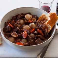 Beef Bourguignon Recipe courtesy of McCormick Gourmet All Natural Thyme. A classic French comfort dish – tender chunks of beef, mushrooms and onions in an aromatic red wine sauce.    #McCormickGourmet @Influenster #FrostyVoxBox courtesy of Influenster for review purposes