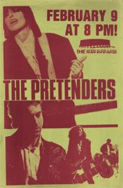 Pretenders Archives: Gig Posters - http://www.pretendersarchives.com/collectibles/gigposters2.html