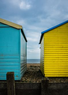 Beach Huts by Mike Griggs on 500px