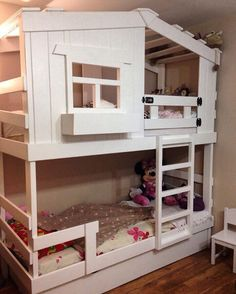 """Кровать """"Домик"""" без горки. Ваши детки будут очень рады такому домику"""