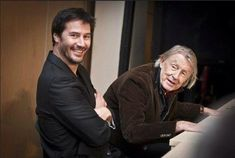 Keanu Reeves and Joel Schumacher - Side by Side (2012)