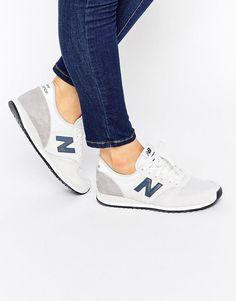 Bild 1 von New Balance – 420 – Neutrale Turnschuhe aus Wildleder