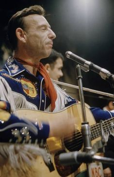 """""""The Singing Ranger"""", Hank Snow, another Country legend in a Nudie Suit, was one of my all-time favorites!"""