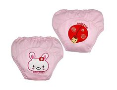 Fairy Baby Toddler Potty Training Pants Reusable Underwear Pack of 2(18-24Months,Pink) Review