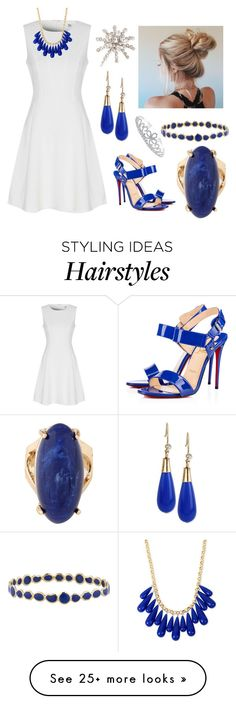""""""""""" by sarah-michelle-steed on Polyvore featuring True Decadence, Christian Louboutin, INC International Concepts, Chicnova Fashion, Ippolita, Bling Jewelry and Jennifer Behr"""