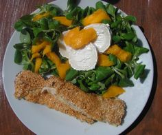 Sesamee turkey + mango, goatcheese