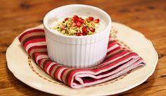 Almond & Rosewater Milk Pudding - Good Chef Bad Chef
