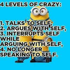 I do this sometimes.... I know I'm crazy.