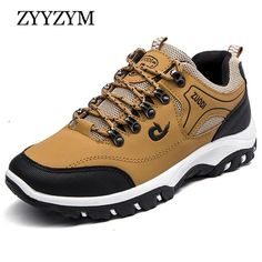 9281219c67 Men Casual Shoes Spring Autumn Lace-Up Non-slip Mixed Colors Shoes High  Quality