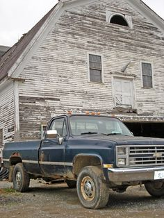 Rusting Out Chevy