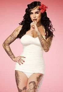 Guilty pleasure = watching LA Ink. Love Kat Von D
