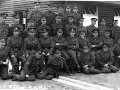 Awaiting the Call Soldiers of hut 17, Z Company, Royal Army Medical Corps, at Tweezeldown Camp, Aldershot, in September 1916.  The names of the men are given on the back of the photograph with a note to say that they were waiting for orders to proceed towards the theatre of war. HMCMS:R2005.47 / DPABLD85