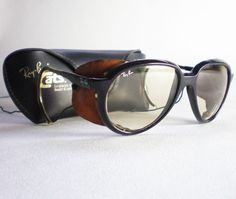 f3fead256d06a Vintage Ray Ban CATS 7000 GLACIER CHANGEABLES Sunglasses side shield aviator
