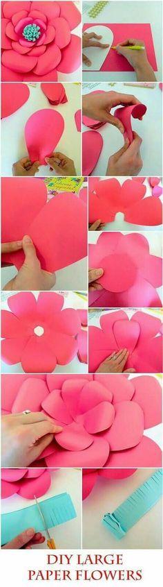 Paper flower's