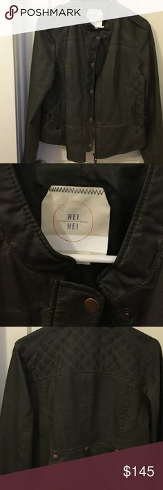 Anthropologie Hei Hei jacket Like new. Used once. Anthropologie Jackets & Coats