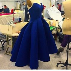 2018 evening gowns - Navy blue satins sweetheart high-low cheap short dresses,simple prom dress for teenagers Dark Blue Prom Dresses, Simple Homecoming Dresses, High Low Prom Dresses, Prom Dresses For Teens, A Line Prom Dresses, Royal Blue Dresses, Sexy Dresses, Short Dresses, Dress Prom