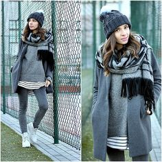 More looks by Justyna H: http://lb.nu/justynah  #casual #sporty #street