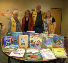 Lakeport Lions support literacy at Lakeport Elementary School