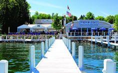 Gage's Pier 290, Lake Geneva, Wisconsin
