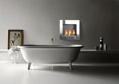 The Zazen ethanol fireplace from zenflames.com