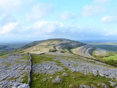 Co Clare: view east from Puck's Leap. Irish Landscape, My Photos, Mountains, Nature, Travel, Naturaleza, Viajes, Destinations, Traveling
