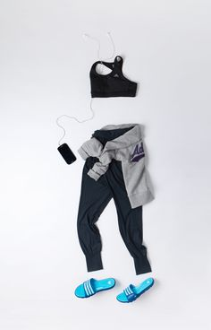 adidas performance, fitness flatlay, gym flatlay