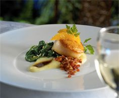Seared Sea Scallops - 150 Central Park #RoyalCaribbean