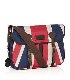 Union Jack Dryfly Bag-- want.