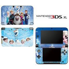 Frozen Decorative Video Game Decal Cover Skin Protector For Nintendo 3Ds Xl, 2015 Amazon Top Rated Faceplates, Protectors & Skins #VideoGames