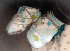 Petits chaussons tous doux pour mon mini :)
