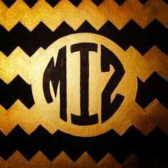 INEXPENSIVE MIZZOU 11x14in. STRETCHED Canvas
