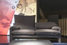 Cool Since 1974. Cassina celebrates the 40 years of the Maralunga sofa by Magistretti @ Cassina Showroom Milano  #mobilimania #budapest www.mobilimania.hu