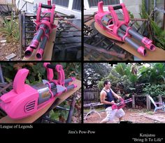 Jinx's minigun Pow-Pow by Minatek616 on DeviantArt
