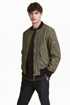 Padded bomber jacket | H&M