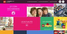 LEGO France crée un site internet dédié à renforcer la créativité des parents, contraints de jouer avec leurs enfants !  http://www.minutecom.com/?p=2100