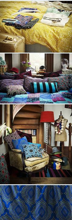 Ikea Limited Edition Textile Collection:NÄTVIDE. why can't i find this on Ikea's US website?!!!