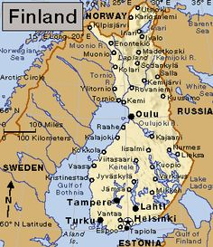 This is Finland.