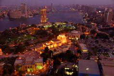 """cairo befor night"" by Boo Davinci, via 500px. ساعه المغربيه :)"