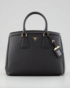Saffiano Parabole Bag, Nero by Prada at Bergdorf Goodman.