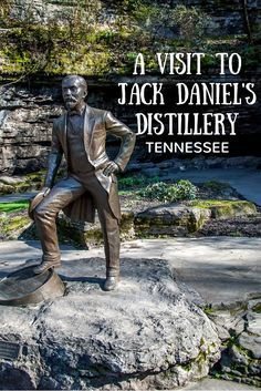 Every drop of Jack Daniel's whiskey in the world is made in Lynchburg, Tennessee. At the distillery, you can taste the products, see the massive production, and learn the story of the man himself.