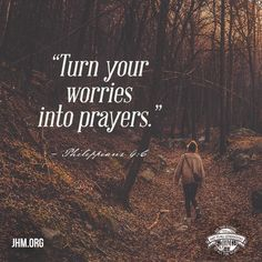 """""""Be anxious for nothing, but in everything by prayer and supplication, with thanksgiving, let your requests be made known to God.""""  —Philippians 4:6  #Pray #God #Scripture #Philippians #Faith #Prayer"""