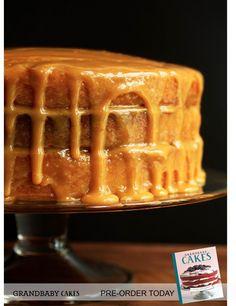 Real Deal Caramel Cake Recipe in Grandbaby Cakes Cookbook | Grandbaby Cakes